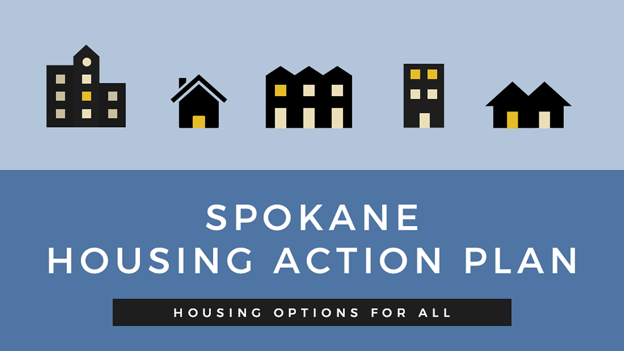 Spokane Housing Action Plan Logo