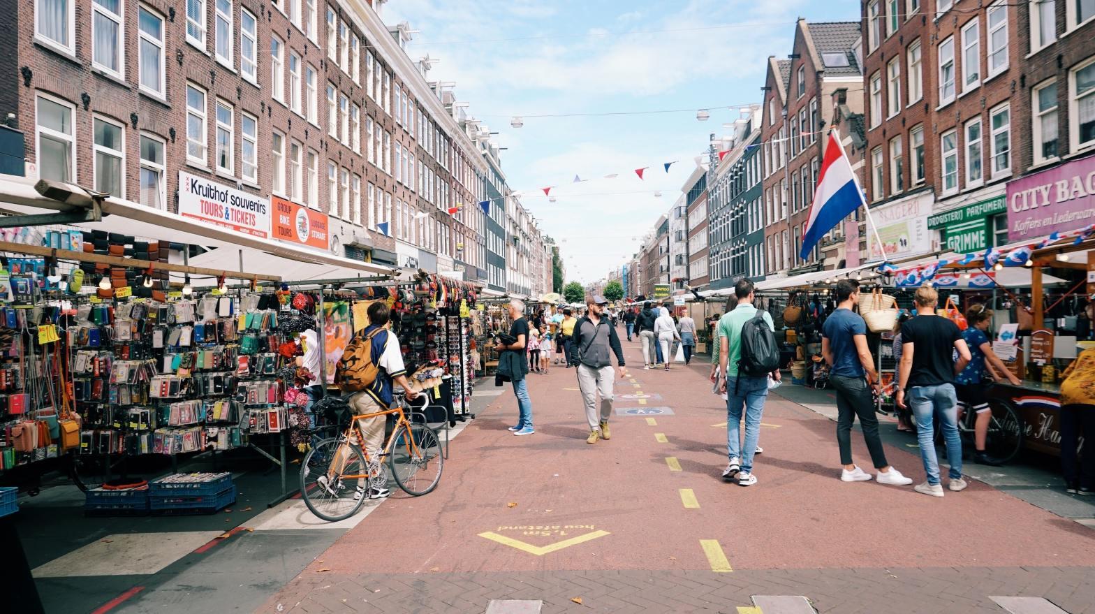Amsterdam Market Photo by Matheus Frade